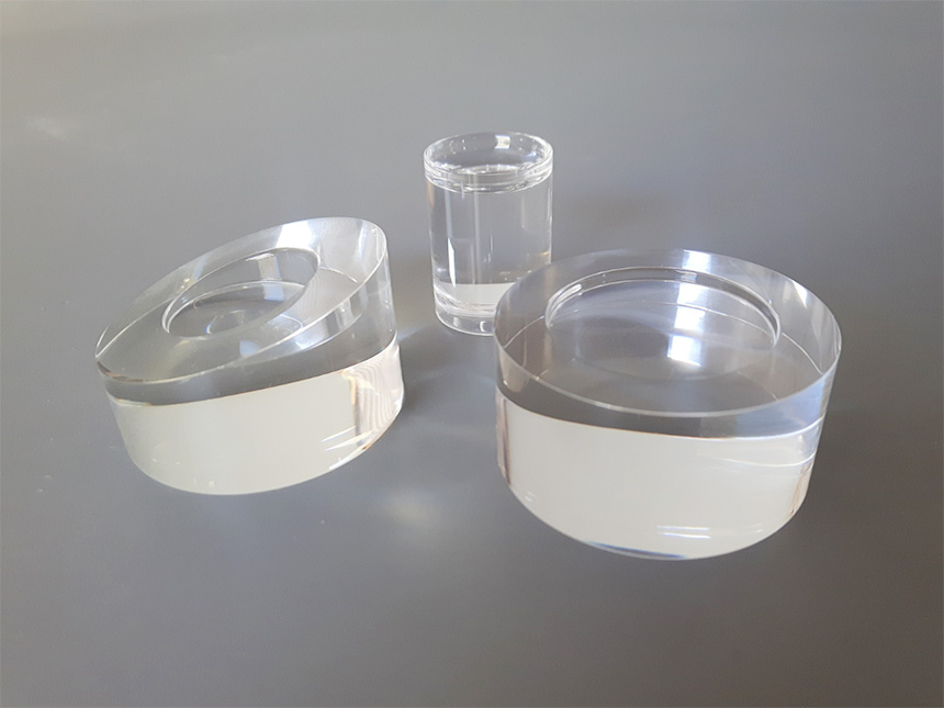 Espositori per cosmetici cilindrici